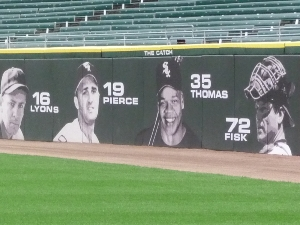 White Sox Outfield Wall Treatment