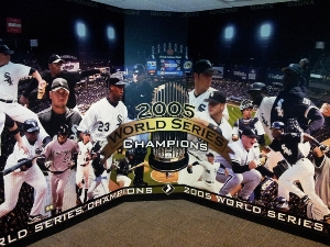 Wall Treatment for Chicago White Sox Front Office
